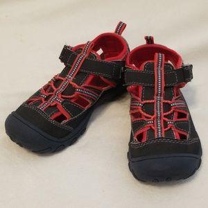 OshKosh Neoprene Sandals - Black & Red